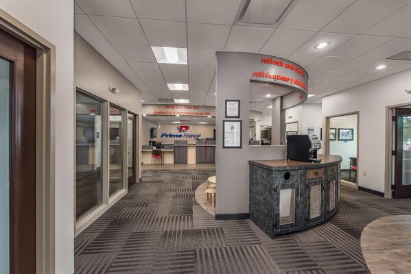 Prime Financial Credit Union Lobby