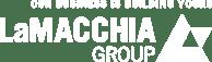 La Macchia Group logo white
